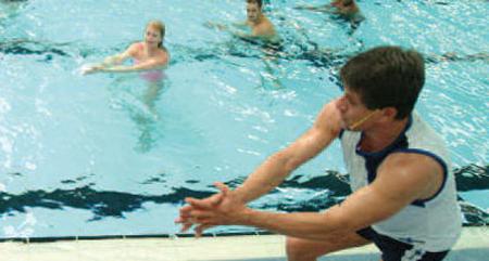 Perfekt läge att gå kurs för instruktörer i vattengympa