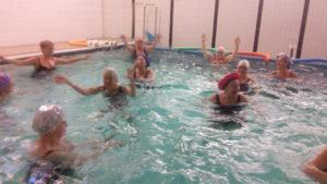 Gruppträning i vatten