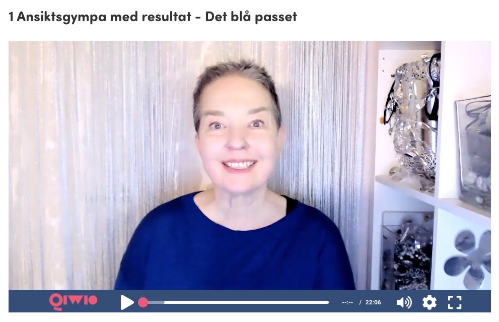 Världspremiären av ansiktsgympa med resultat - Lisel Humla, Urforma nu
