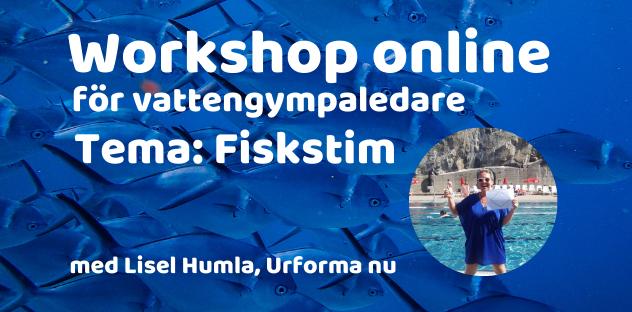 Workshop online för vattengympaledare