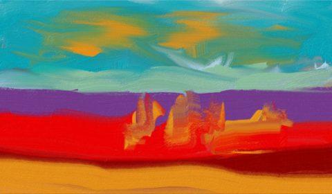 Digital målning av Kalervo Niva