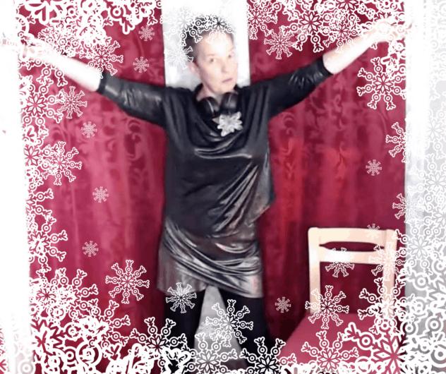 Julkalendern Vattengympa med Fröken Humla