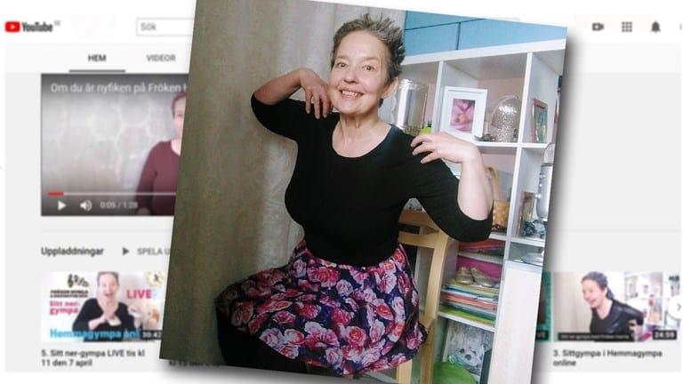 gympa för äldre med Lisel Humla