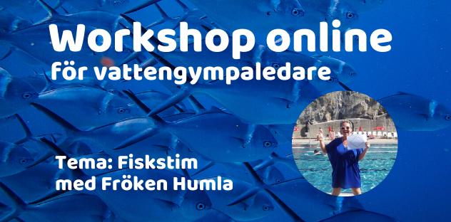 Workshop i att vattengympa som ett fiskstim