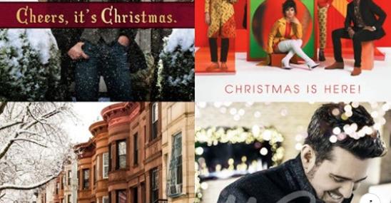 Julmusik tillåten. Länk till spellista på Youtube