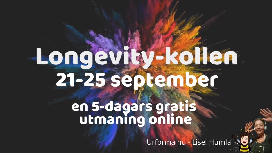 Longevity-kollen med Lisel Humla - Urforma nu
